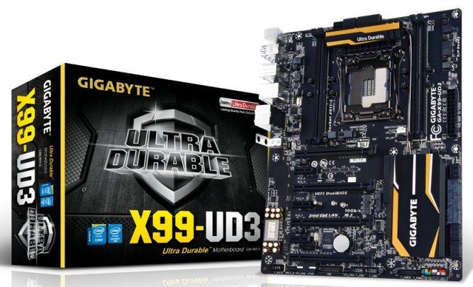 Gigabyte GA X99 UD4