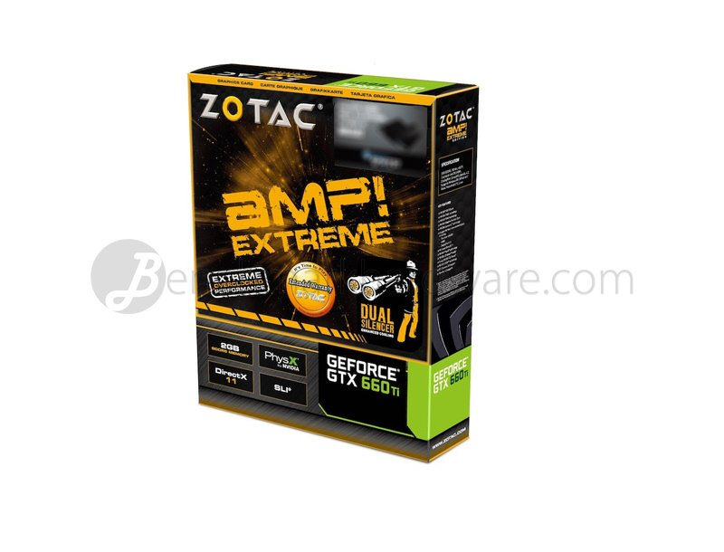 Zotac GTX 660 Ti AMP! Extreme Edition