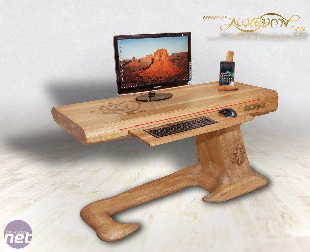 Bit-Tech MOTY 2014 - Lizard desk por awadon
