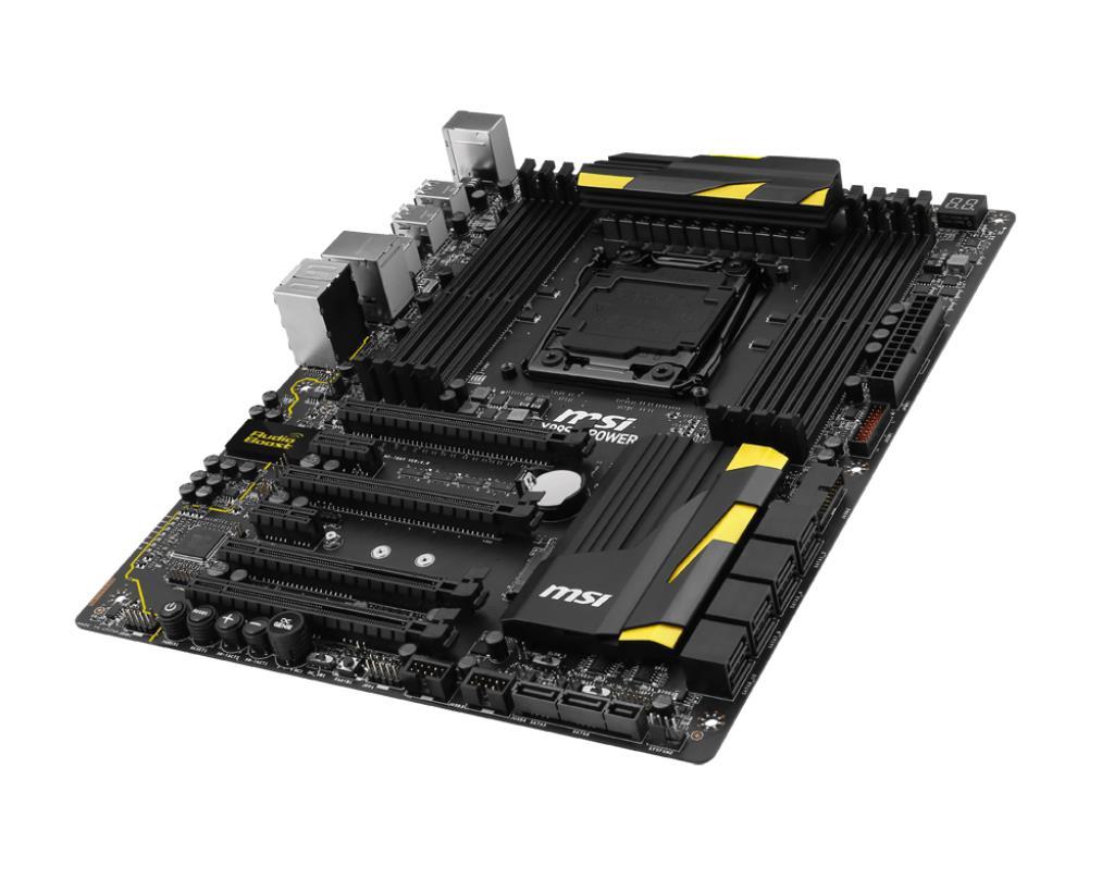 MSI lanza una nueva placa base X99, la MSI X99S MPower