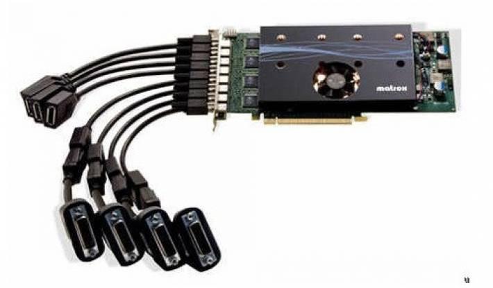 Matrox utilizará en un futuro GPUs AMD para tarjetas gráficas Multi-monitor