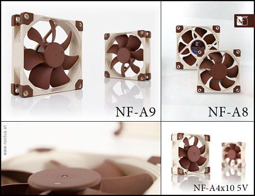 Noctua amplía la Serie A con nuevos ventiladores de 92mm, 80mm y 40mm