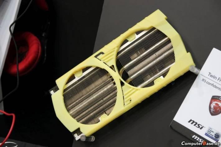 Aparece la primera imagen del sistema de refrigeración Twin Frozr V de MSI