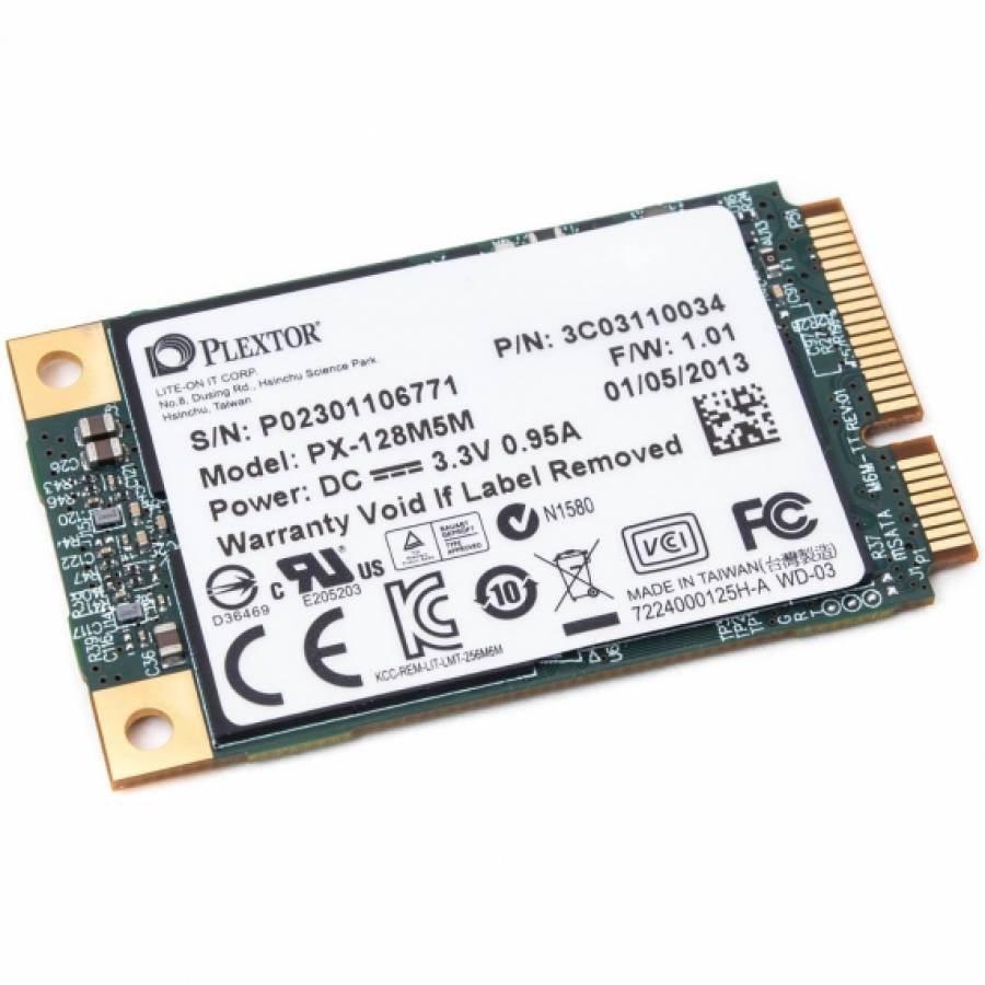 Plextor M5m 128Gb mSata SSD – Review