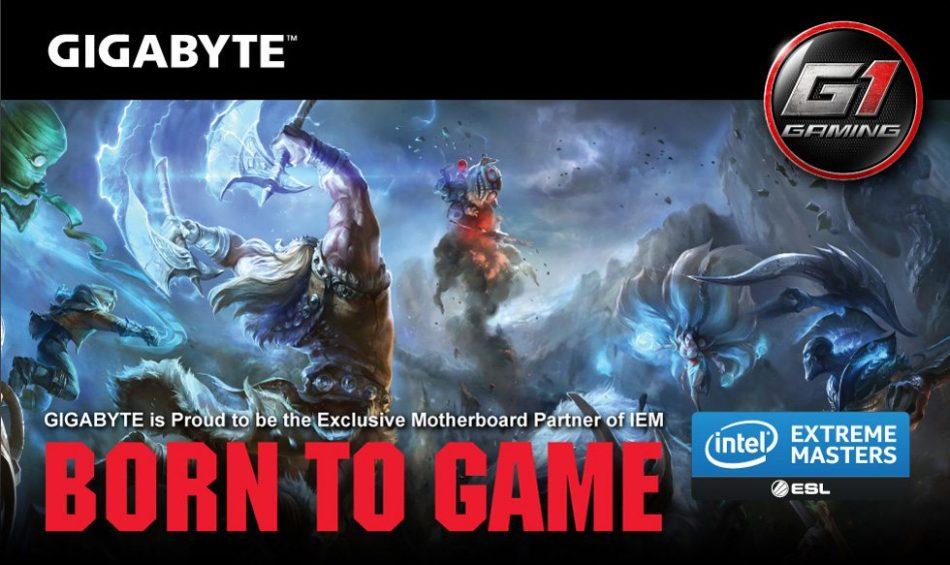 GIGABYTE patrocinador exclusivo de placas base en la Intel Extreme Masters (IEM)