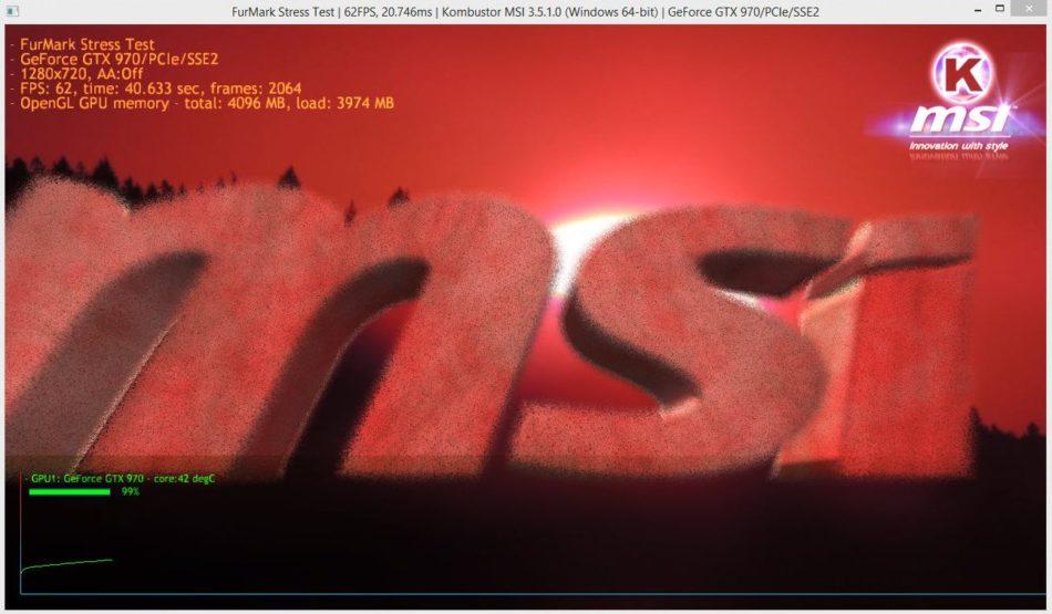 MSI Kombustor GTX 970