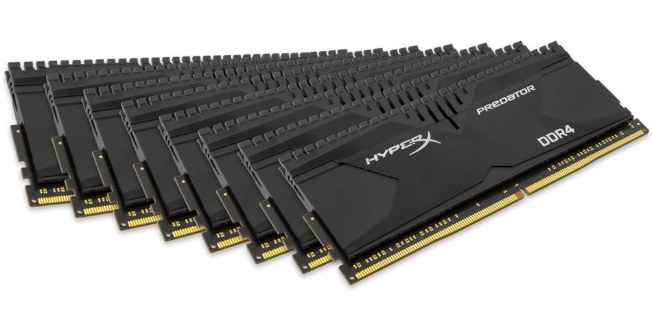 HyperX logra el kit de memoria DDR4 de 128GB más rápido