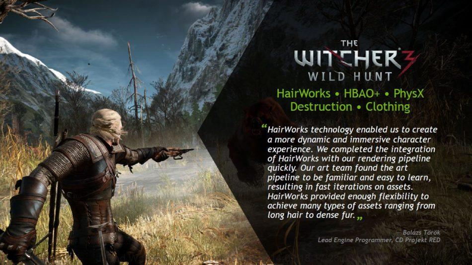 NVIDIA detalla las configuraciones recomendadas para The Witcher 3, en la serie 900