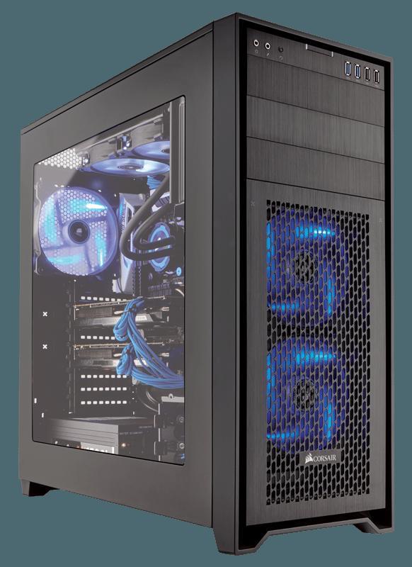 Corsair anuncia Obsidian Series 750D  Chasis para PC de torre completa Airflow Edition