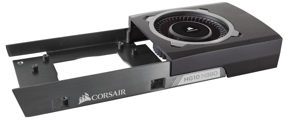 Corsair incorpora la refrigeración líquida en las GPU NVIDIA GeForce más recientes