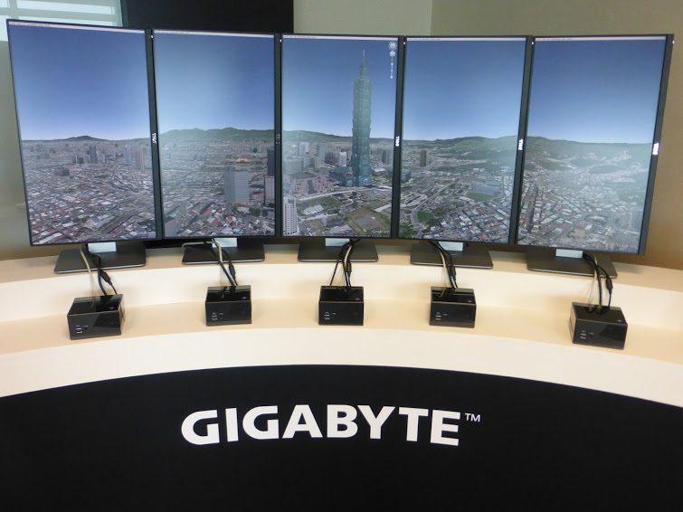 Computex 2015: Liquid Galaxy en la sala VIP de Gigabyte
