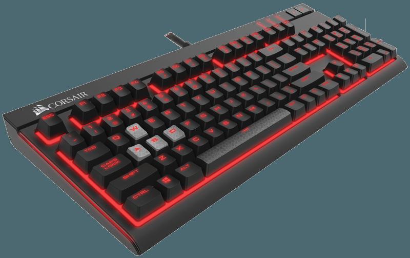 Corsair lleva la retroiluminación líder del sector al  nuevo teclado mecánico STRAFE para videojuegos
