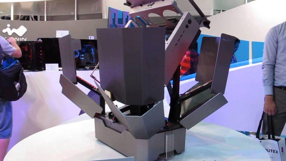Computex 2015: INWIN H-Tower, la caja transformer