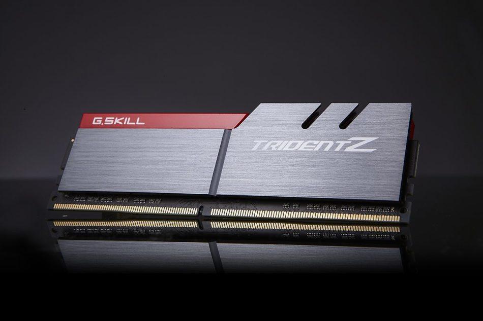 G.SKILL conquista los 4000MHz con sus series DDR4 Trident Z y Ripjaws V