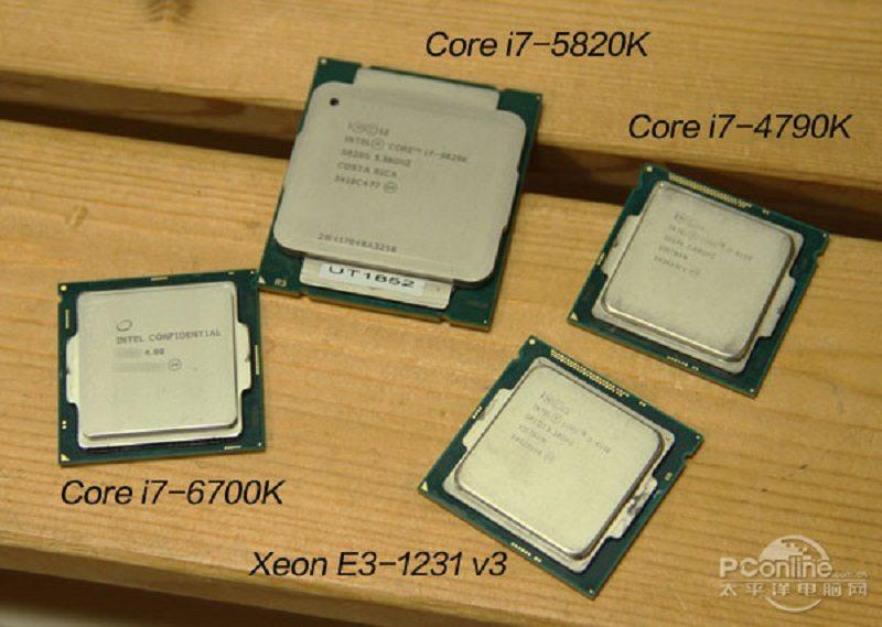 Filtradas fotos y resultados del Intel I7 6700k