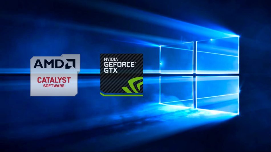 Publicados los drivers de AMD y NVIDIA para Windows 10