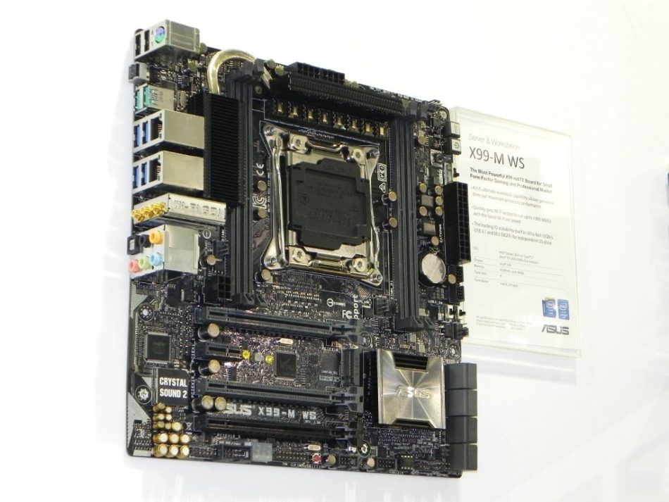 ASUS presenta la placa base X99M-WS Micro-ATX