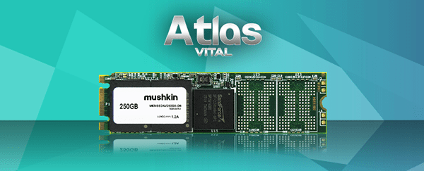 Mushkin presenta sus nuevos SSDs ATLAS VITAL