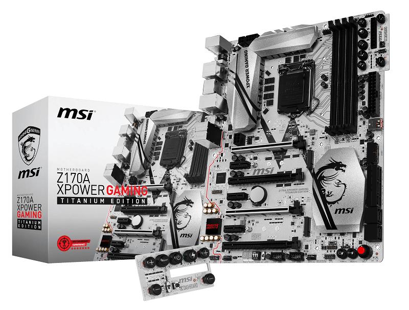 Se desvelan detalles de la MSI Z170A XPOWER Gaming Titanium Edition