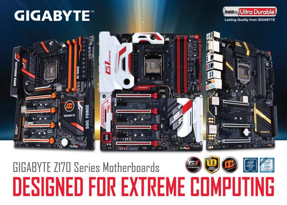 GIGABYTE presenta las placas base de la serie 100 - benchmarkhardware 1