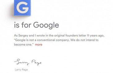 Google ahora se llama Alphabet - benchmarkhardware