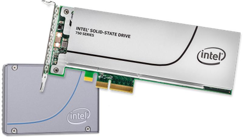 Intel SSD 750 de 800 GB confirmado