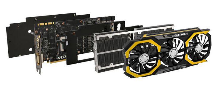 MSI Geforce GTX 980 Ti Lightning fotografiada - benchmarkhardware 1