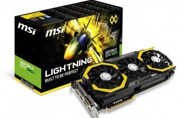 MSI Geforce GTX 980 Ti Lightning fotografiada - benchmarkhardware