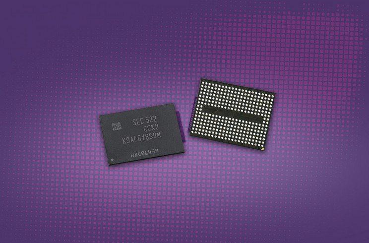 Samsung comienza la producción en masa de 3D V-NAND Flash a 256-Gigabit