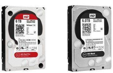 Western Digital presenta discos de 5 y 6 TB para sus series Red Pro y Black - benchmarkhardware