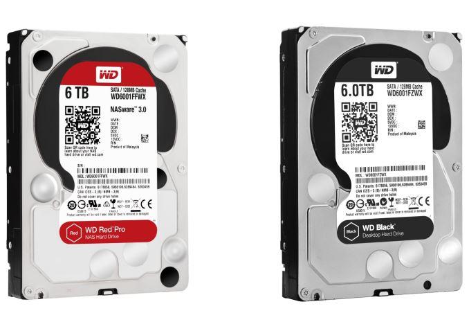 Western Digital presenta discos de 5 y 6 TB para sus series Red Pro y Black