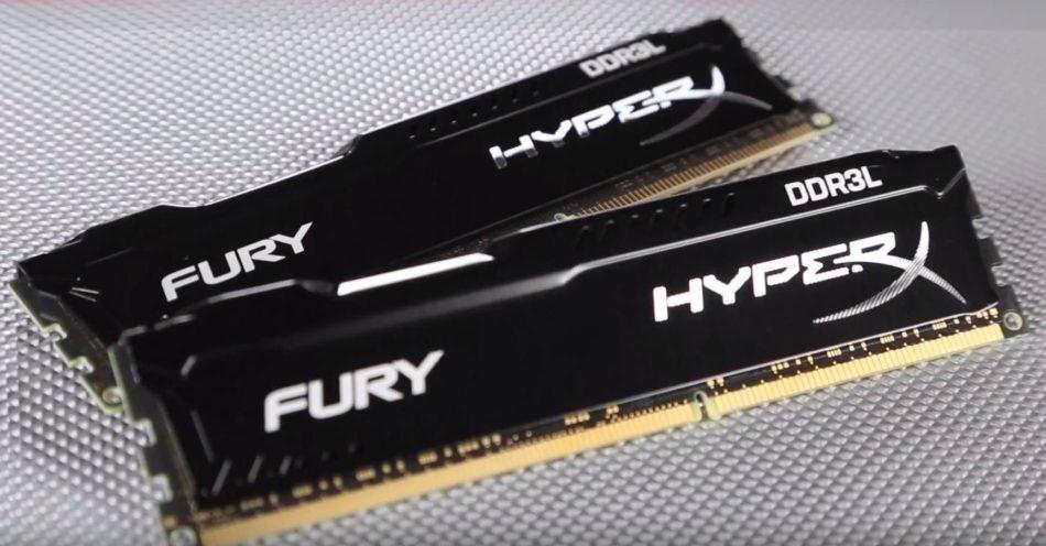 HyperX amplía la línea de memorias FURY y lanza la nueva DRAM DDR4 Impact