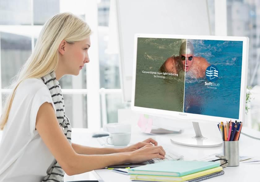 MMD Nuevas pantallas Philips con tecnología SoftBlue para usuarios y profesionales