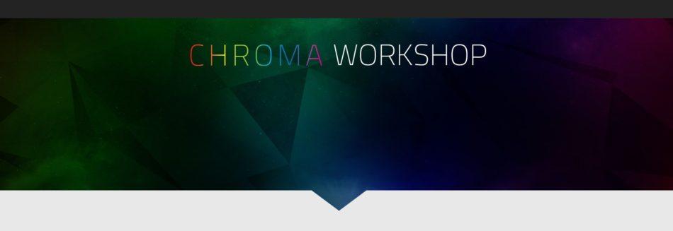 Razer Chroma Workshop da luz a tus juegos