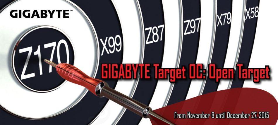 GIGABYTE patrocina Target OC