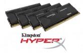 HyperX lanza kits de alta capacidad para sus memorias DDR4 Savage y Predator
