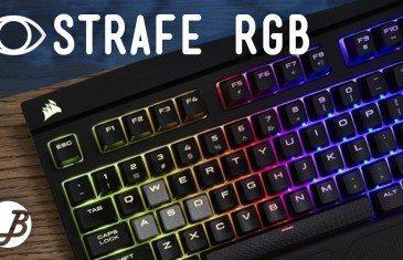 Teclado Corsair Strafe RGB Mx Silent