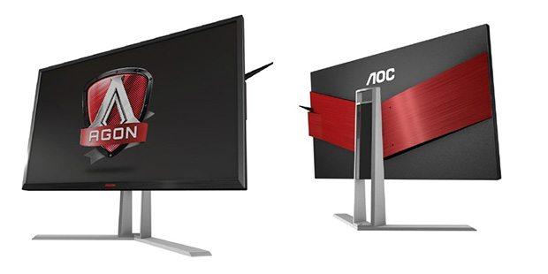 AGON – AOC lanza una línea de monitores Premium para Gaming
