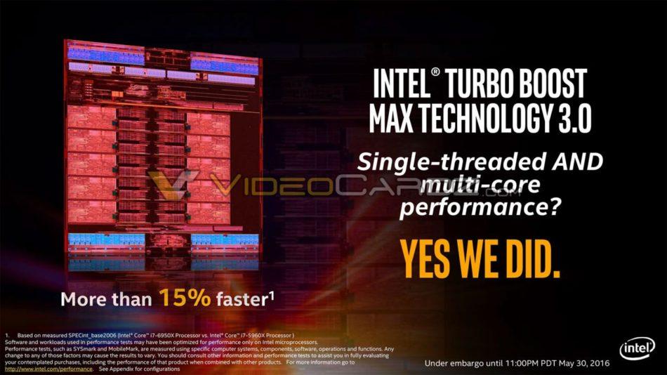 Se filtran los nuevos procesadores Intel Broadwell-E