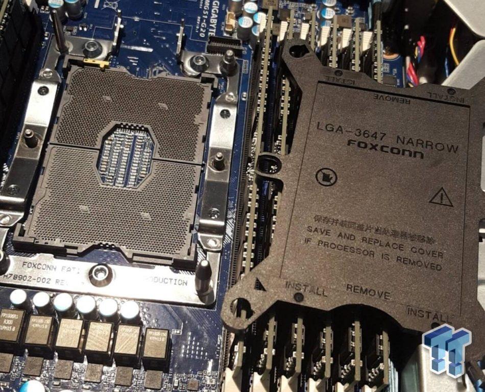 Computex 2016: Primeras imágenes del nuevo Socket LGA 3647 de Intel