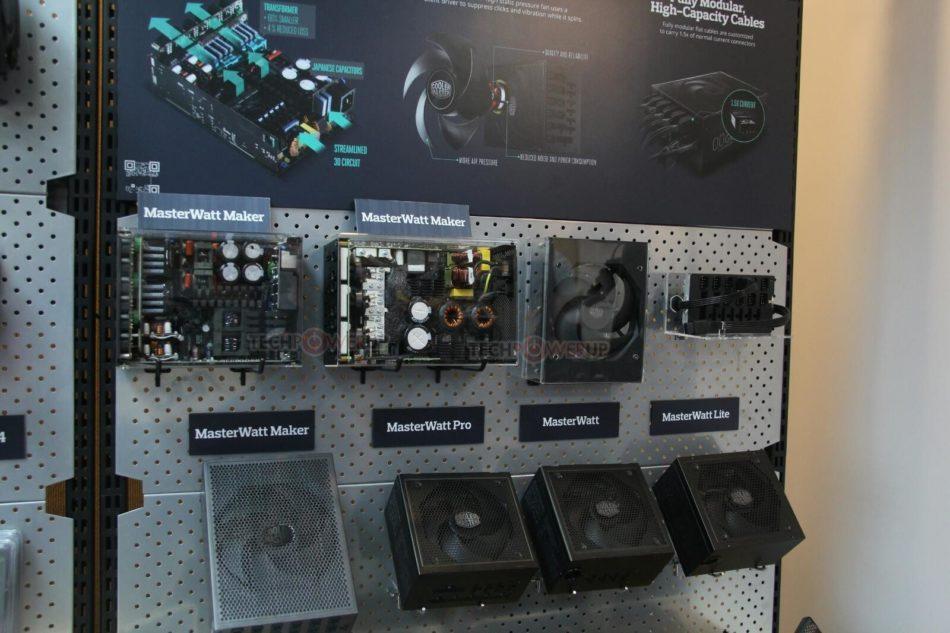 Computex 2016: Cooler Master muestra sus nuevas cajas y PSUs