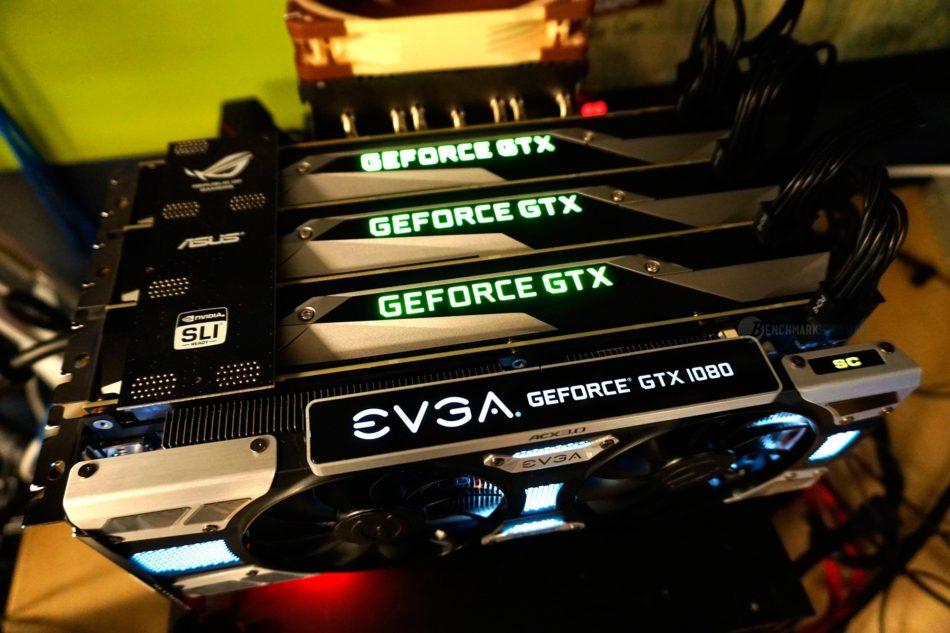 NVIDIA no dará soporte para triple y cuádruple SLI en GTX 1070 y GTX 1080