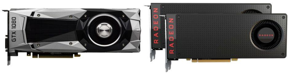 El CrossFire de la AMD RX 480,  puede ser más potente que la NVIDIA GTX 1080