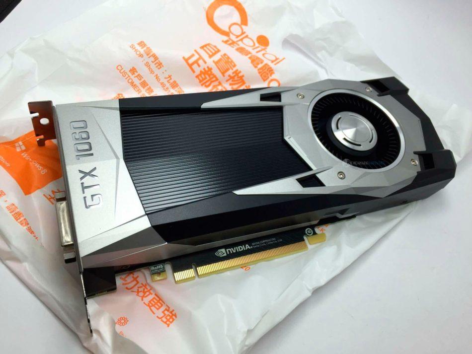 Primeras imágenes de NVIDIA GTX 1060