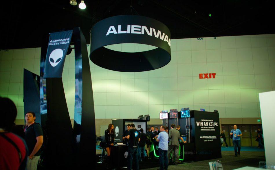 Alienware presenta sus nuevos productos durante el E3 2016