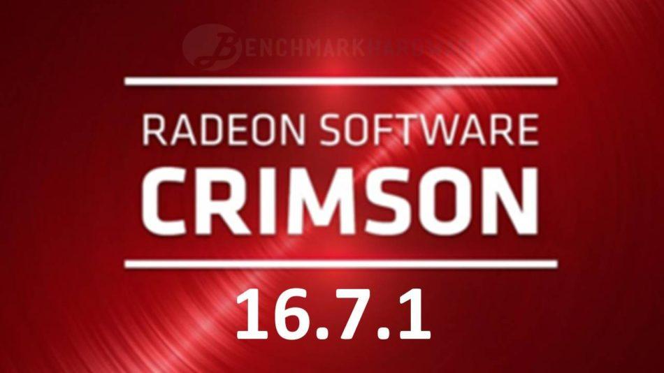 AMD lanza la versión 16.7.1 para su software Radeon Crimson