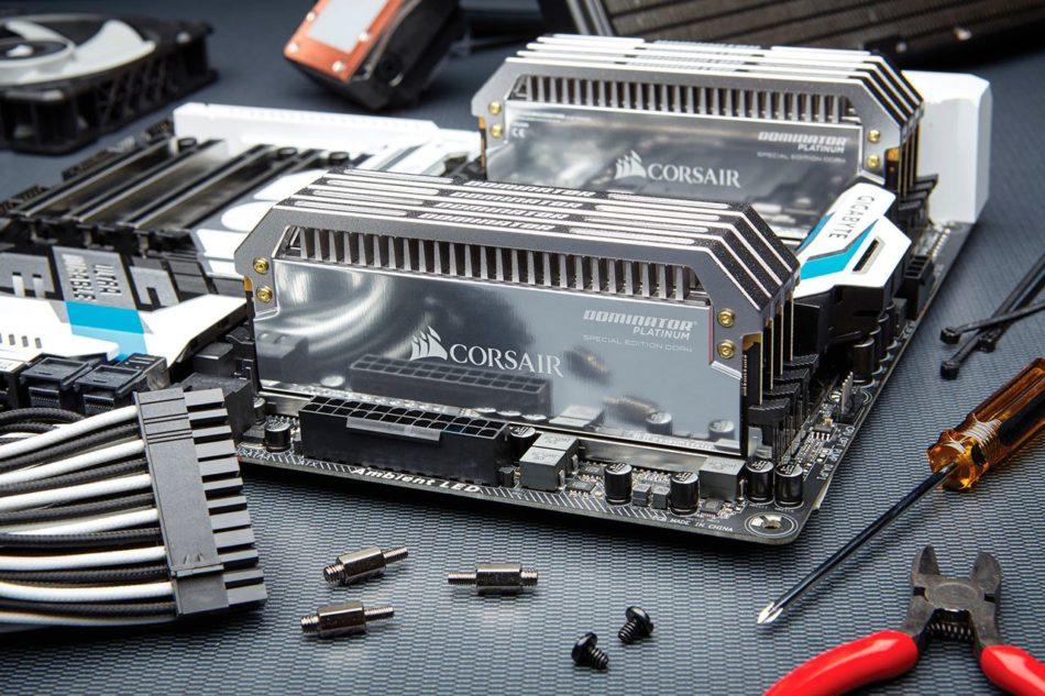 Corsair lanza una edición especial de Dominator Platinium DDR4