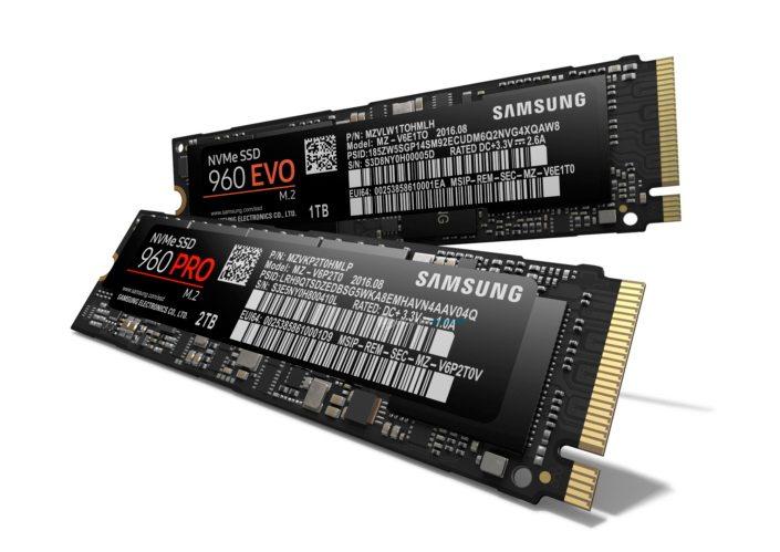 Samsung presenta 960 EVO y 960 PRO, sus SSD más potentes hasta la fecha