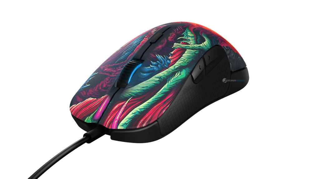 Lo nuevo de SteelSeries, Rival 300 CS:GO Hyper Beast Edition