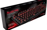 Kingston HyperX Alloy FPS sale al mercado
